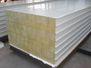岩棉夹芯板2